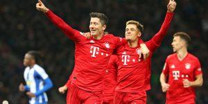 Egy óra után indult be a Bayern-henger | Hertha 0-4 Bayern