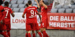 Hétgólos thriller az egyszemélyes hadsereg ellen | Összefoglaló: Bayern 5-2 Frankfurt
