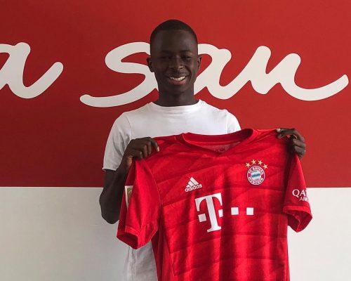Hivatalos: Sanyang a Bayern akadémiáján folytatja