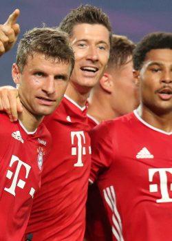 Rekordsorozat, Lewa és Gnabry megállíthatatlan | Statisztikák: OL 0-3 FCB