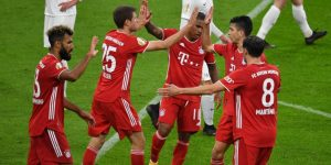 Szerény győzelem az ötödosztályú klub ellen | Összefoglaló: Düren 0-3 Bayern