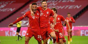 Őrült meccsen, Lewa mesternégyesével győzött a Bayern | FCB 4-3 BSC