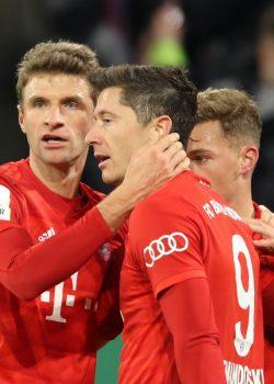 Lewandowski lett az év játékosa a Bayernnél