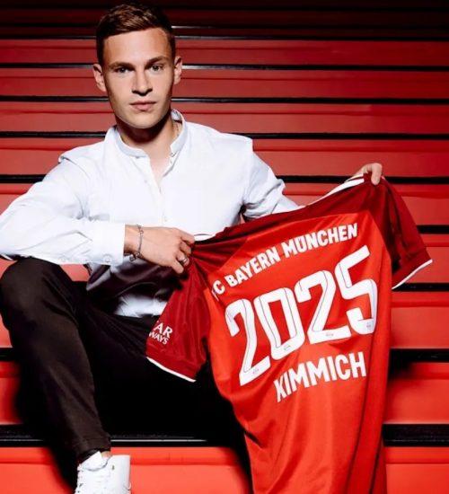 Hivatalos: Joshua Kimmich 2025-ig hosszabbított!